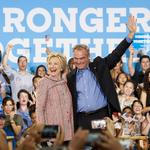 For VP, Clinton has Virginia on her mind with Kaine pick