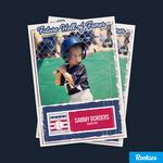 Personalized baseball card app teams with Hall of Fame