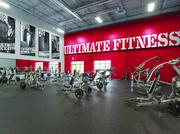 The inside of a World Gym