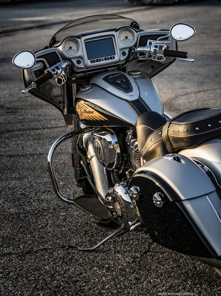 Indian Motorcycle Introduces Its 2017 Lineup Which Includes The Chieftain Shown In Star