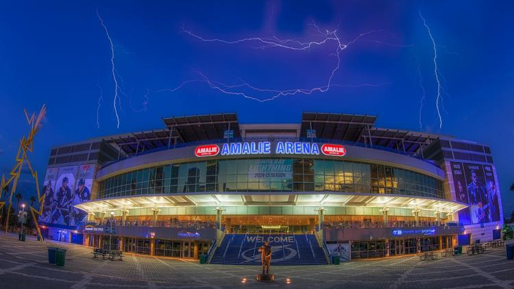 530ed15443d Amalie Arena will receive a big upgrade in technology infrastructure.