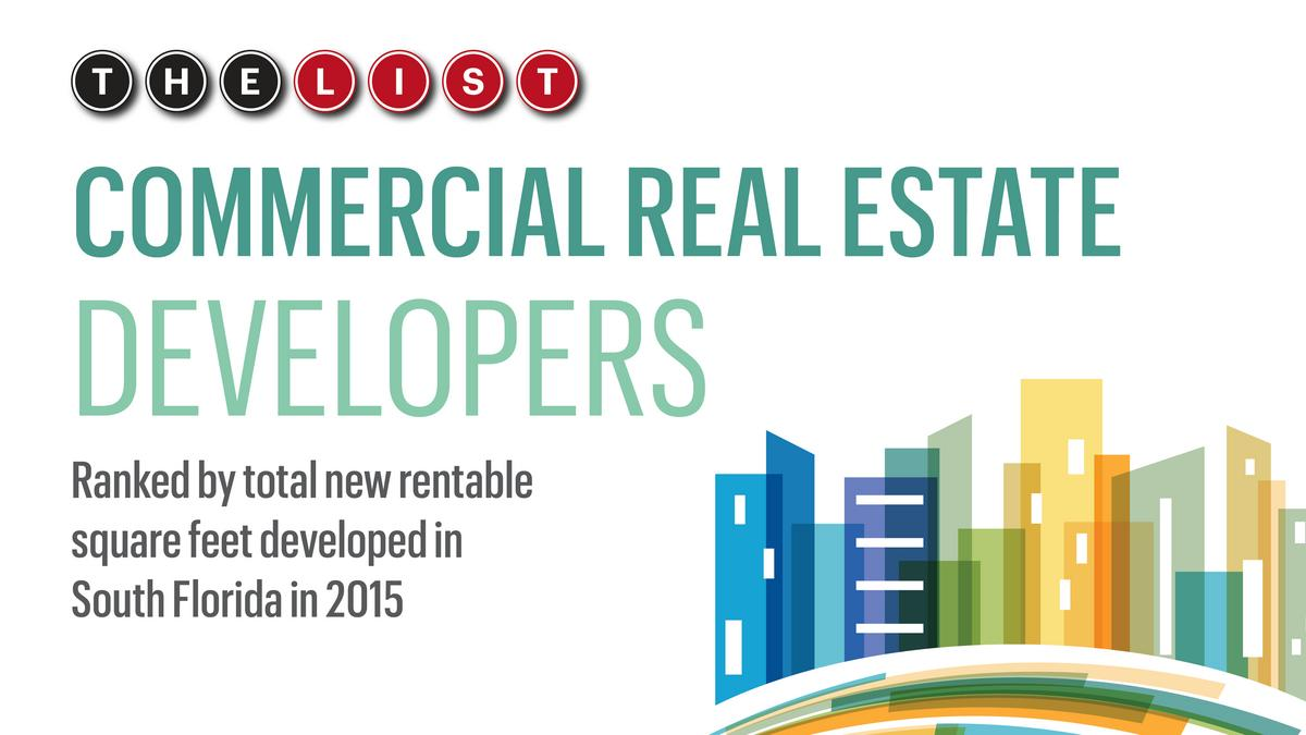 Top Real Estate Development Firms : The list commercial real estate developers south