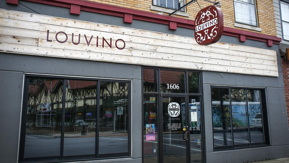 0 Down Lease >> Louisville wine bar, restaurant LouVino looking north for ...