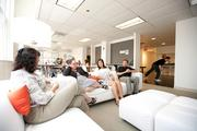 Seating areas provide a comfortable gathering space.