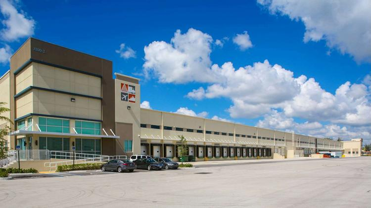 Florida East Coast Industries sold South Florida Logistics Center to a group of pension funds.