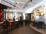 Inside North America's first airport Hard Rock Cafe, at TIA