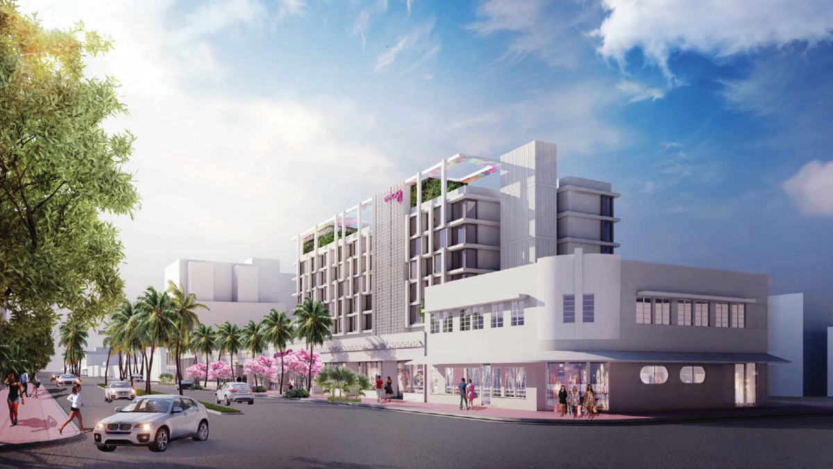 Miami Beach Retail Strip Could Be Redeveloped Into Moxy