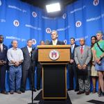 Austin mayor touts broad coalition as former rival backs $720M transport bond