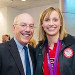 This D.C. hospital CEO used to be <strong>Katie</strong> <strong>Ledecky</strong>'s soccer coach