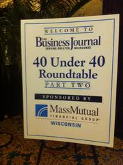 The roundtable was held at The Pfister Hotel.