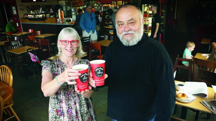 a caffeinated couple s dreams for coffee people portland business