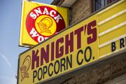 Knight's Popcorn is located on Milwaukee's south side.