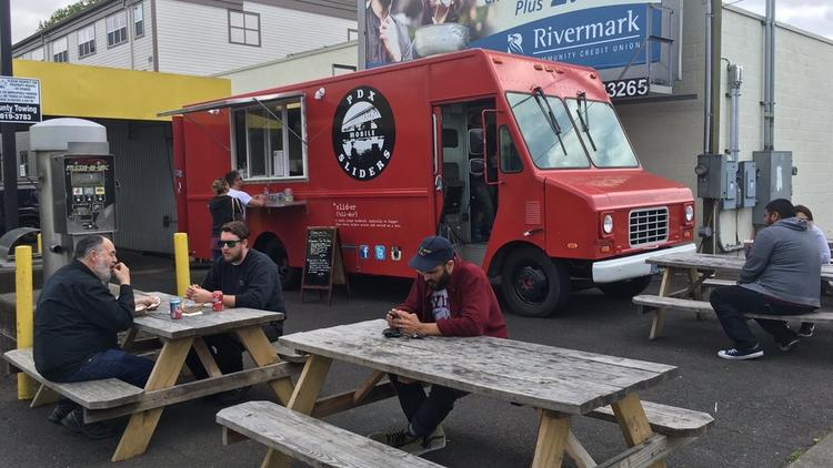 Based on a new compilation of review data from Yelp, PDX Sliders landed in the No. 1 spot on its list of the top 40 food carts in Portland. The truck, which serves up beef, pork, chicken and veggie sliders is at 8064 S.E. 17th St. in the Sellwood-Moreland area.