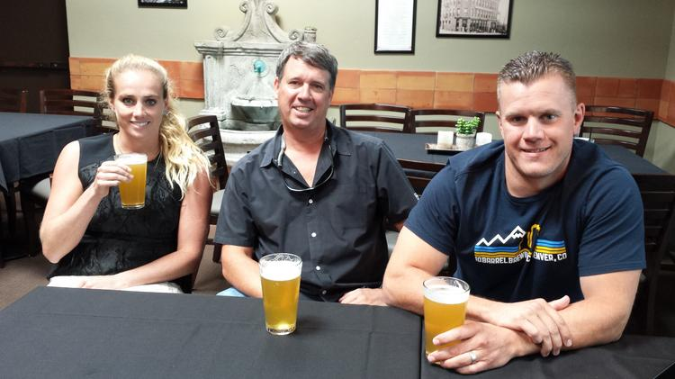 Golden Road Brewing co-founder Meg Gill, Breckenridge Brewery President Todd Usry and 10 Barrel Brewing co-founder Garrett Wales discuss life as part of the Anheuser-Busch InBev family.