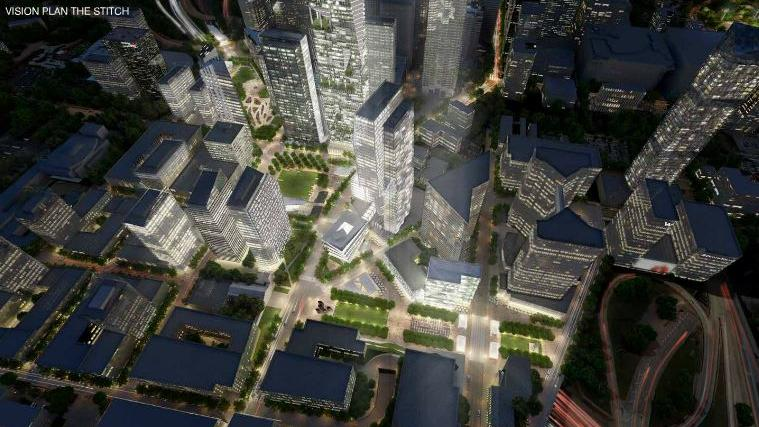 CAP launches study of capping Downtown Connector with urban greenspace - Atlanta Business Chronicle