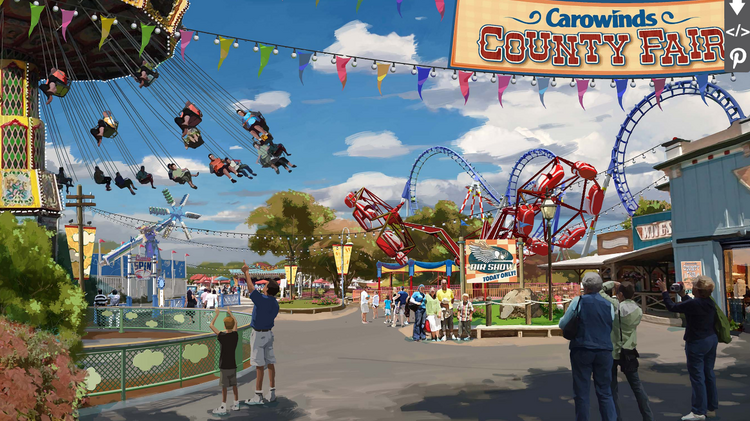 Cedar Fair Entertainment Co Adding Vintage Fair Rides