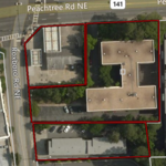 Prime 2-acre parcel on Peachtree Road in Buckhead hits market, may sell for $27M-$30M