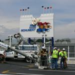 First look at the tribute to old Mile High Stadium (Photos, video)