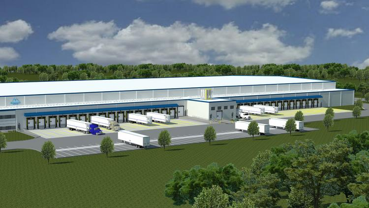 Bridge Development Partners LLC is building this cold-storage warehouse in Burien. & Chicago firm building huge cold-storage warehouse - Chicago Business ...