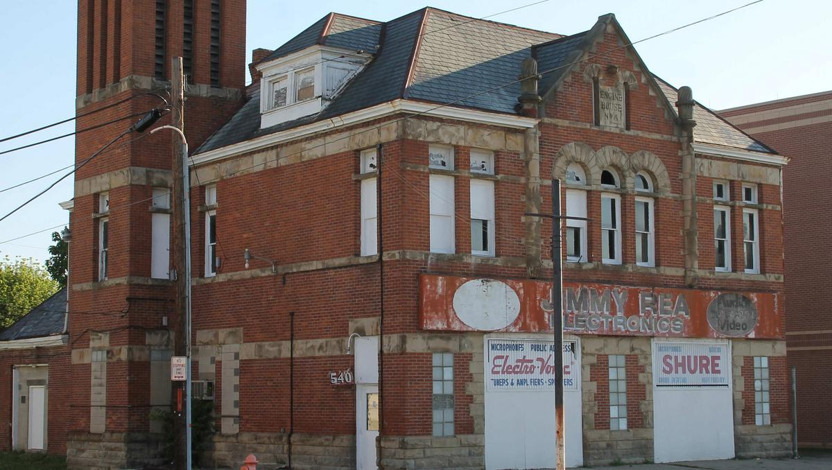124 Year Old Franklinton Fire Station Being Renovated Into Offices Storefront Columbus