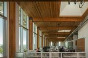 The Bullitt Foundation headquarters in Seattle take advantage of natural lighting.