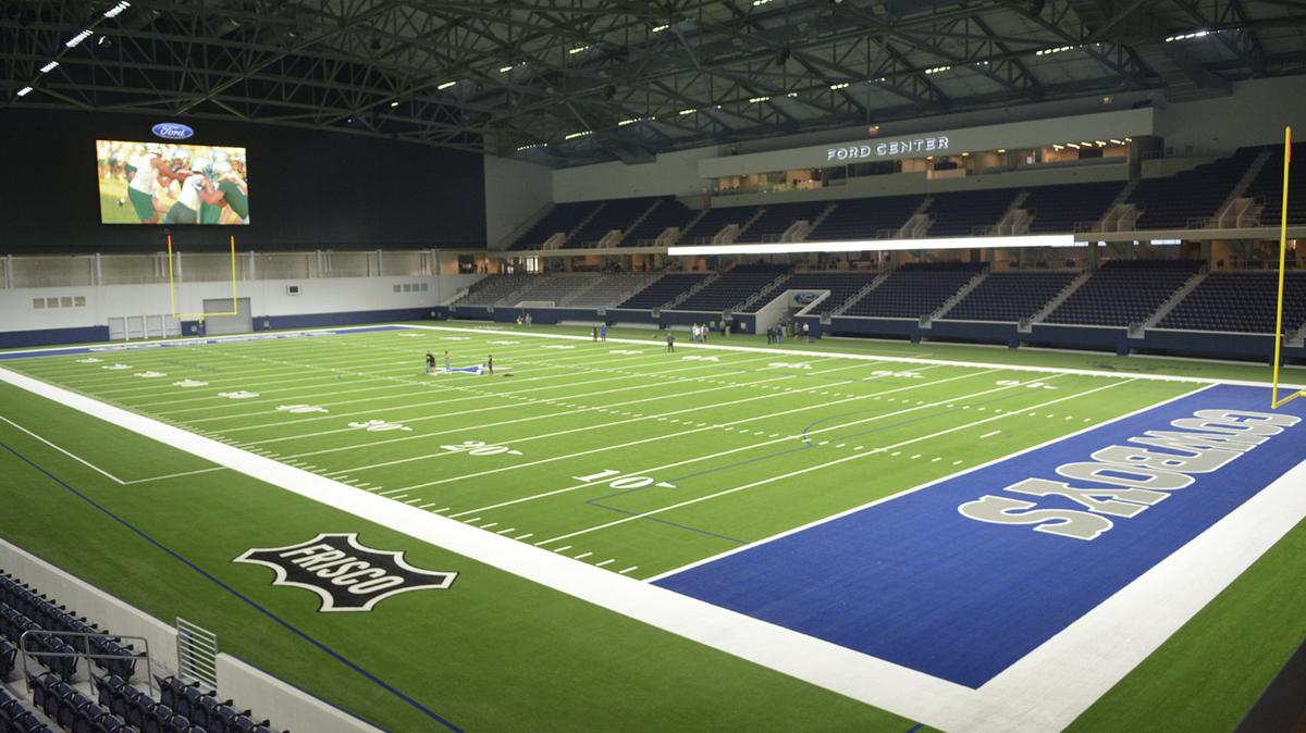Dallas cowboys unveil ford center sponsors abound dallas business journal