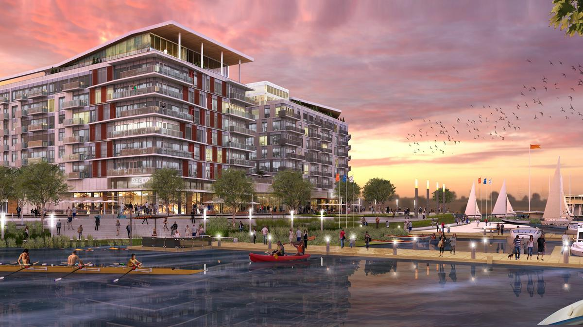 Akridge western development corp redbrick and orr for Riverpointe