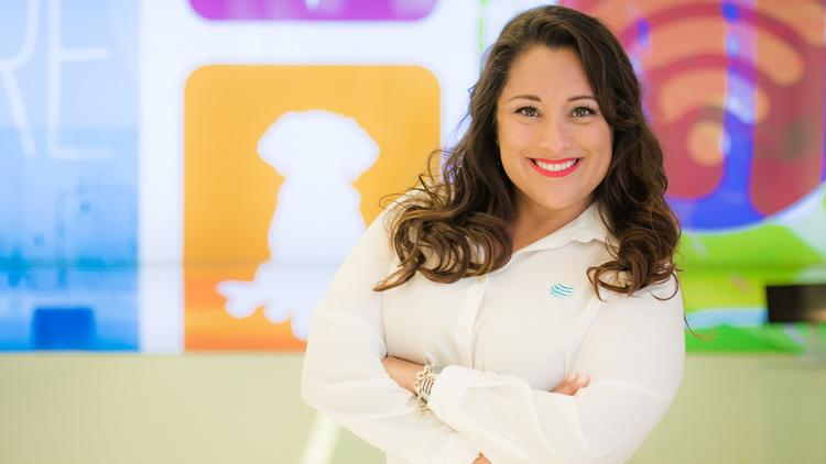 JoHanna Martinez, AT&T's military talent attraction manager
