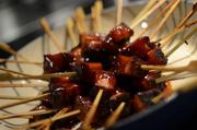 Pork Belly Skewers will be available this season.