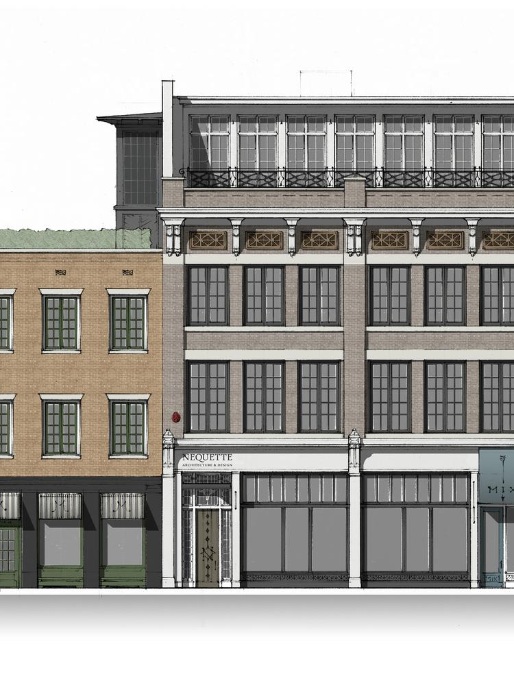Big plans in store for a second avenue north building for Store building design
