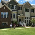 Homebuilder opens first of its 140 townhouses planned in Tega Cay