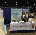 Why St. Johns County had an exhibit at a major CRE summit