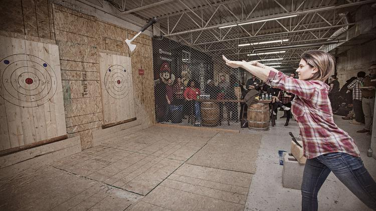 Bad Axe Throwing To Open First U S Location In Chicago