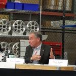 Kaine spells out Clinton small-business plan at Lakewood campaign stop