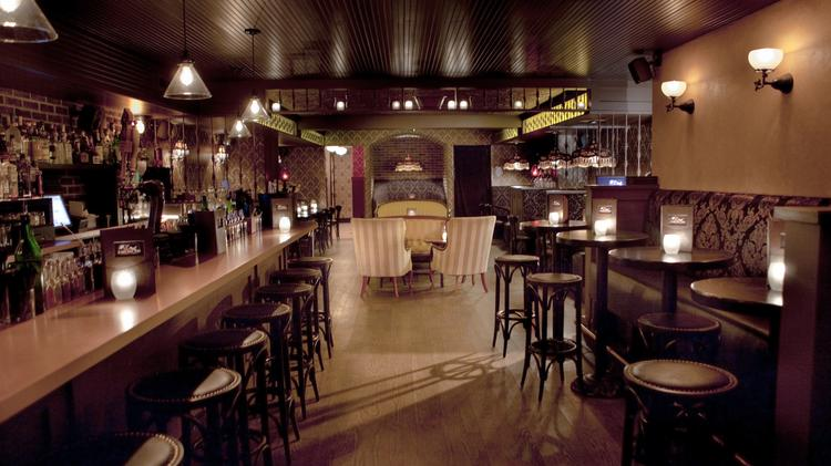 Elegant The Speakeasy Style Bar Bathtub Gin Is Tucked Behind The Stone Street  Coffee Outpost At