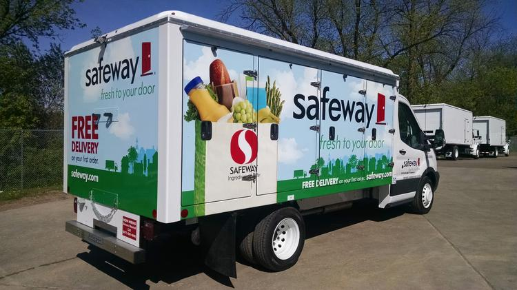 Safeway Albertsons launch delivery service online ordering in