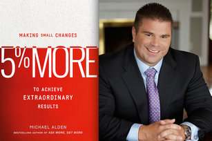 Get a '5% More' mindset and watch your business grow
