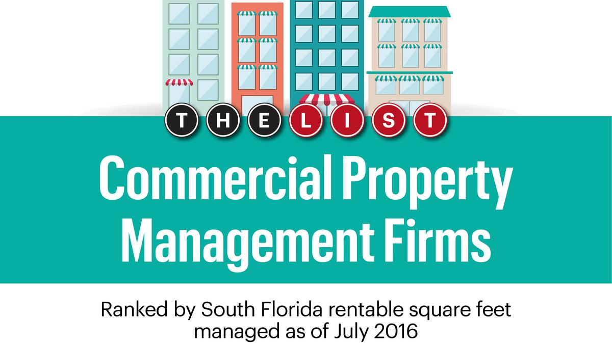 Commercial Property Management : The list commercial property management firms south