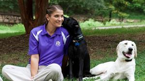 Paws and Effect: A chat with a woman who left law school to work with dogs