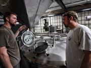Third Space Brewing co-founders Kevin Wright (left) and Andy Gehl.