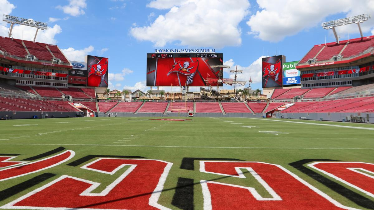 54ccb8d4 Tampa Bay Buccaneers share progress of $140 million in renovations ...