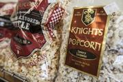 One of Vos' businesses is Knight's Popcorn.
