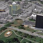 Developers pursue 12-story hotel by Centennial Park