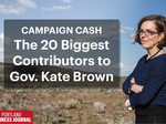 Campaign Cash: The 20 biggest contributors to Gov. Kate Brown