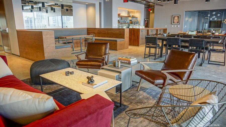 Marvelous Look Inside New Industrious Co Working Space In Austin   Austin Business  Journal