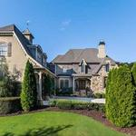 Home of the Day: Manor Style Brick and Stone Residence on the Chattahoochee River