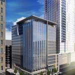 Hotel building boom: Construction starts on another big downtown Seattle project
