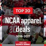 Exclusive: Under Armour has five of the 20 most lucrative NCAA apparel deals