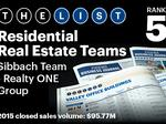 Top of the Phoenix Lists: Residential Real Estate Teams