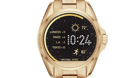 0cb7d863e Michael Kors Access Smartwatch features a face that can change with the  touch of a button